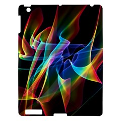 Aurora Ribbons, Abstract Rainbow Veils  Apple Ipad 3/4 Hardshell Case by DianeClancy