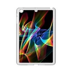 Aurora Ribbons, Abstract Rainbow Veils  Apple Ipad Mini 2 Case (white) by DianeClancy