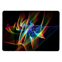 Aurora Ribbons, Abstract Rainbow Veils  Samsung Galaxy Tab 10 1  P7500 Flip Case by DianeClancy