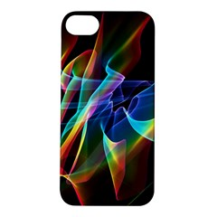 Aurora Ribbons, Abstract Rainbow Veils  Apple Iphone 5s Hardshell Case by DianeClancy