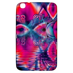 Cosmic Heart Of Fire, Abstract Crystal Palace Samsung Galaxy Tab 3 (8 ) T3100 Hardshell Case  by DianeClancy