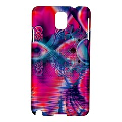 Cosmic Heart Of Fire, Abstract Crystal Palace Samsung Galaxy Note 3 N9005 Hardshell Case by DianeClancy