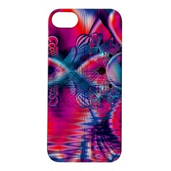 Cosmic Heart of Fire, Abstract Crystal Palace Apple iPhone 5S Hardshell Case
