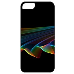 Flowing Fabric Of Rainbow Light, Abstract  Apple Iphone 5 Classic Hardshell Case by DianeClancy