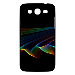 Flowing Fabric Of Rainbow Light, Abstract  Samsung Galaxy Mega 5 8 I9152 Hardshell Case  by DianeClancy