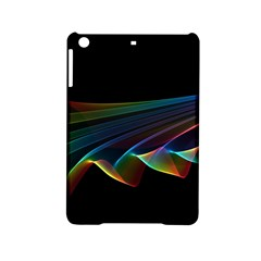 Flowing Fabric of Rainbow Light, Abstract  Apple iPad Mini 2 Hardshell Case by DianeClancy