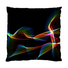 Fluted Cosmic Rafluted Cosmic Rainbow, Abstract Winds Cushion Case (single Sided)  by DianeClancy