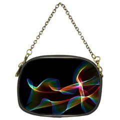Fluted Cosmic Rafluted Cosmic Rainbow, Abstract Winds Chain Purse (two Sided)  by DianeClancy