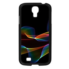 Fluted Cosmic Rafluted Cosmic Rainbow, Abstract Winds Samsung Galaxy S4 I9500/ I9505 Case (black) by DianeClancy