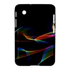 Fluted Cosmic Rafluted Cosmic Rainbow, Abstract Winds Samsung Galaxy Tab 2 (7 ) P3100 Hardshell Case  by DianeClancy