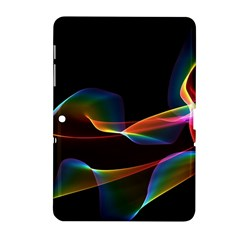 Fluted Cosmic Rafluted Cosmic Rainbow, Abstract Winds Samsung Galaxy Tab 2 (10 1 ) P5100 Hardshell Case  by DianeClancy