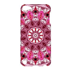 Twirling Pink, Abstract Candy Lace Jewels Mandala  Apple Ipod Touch 5 Hardshell Case by DianeClancy