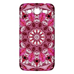 Twirling Pink, Abstract Candy Lace Jewels Mandala  Samsung Galaxy Mega 5 8 I9152 Hardshell Case  by DianeClancy
