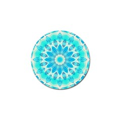 Blue Ice Goddess, Abstract Crystals Of Love Golf Ball Marker 10 Pack by DianeClancy