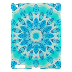 Blue Ice Goddess, Abstract Crystals Of Love Apple Ipad 3/4 Hardshell Case by DianeClancy