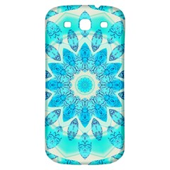 Blue Ice Goddess, Abstract Crystals Of Love Samsung Galaxy S3 S Iii Classic Hardshell Back Case by DianeClancy