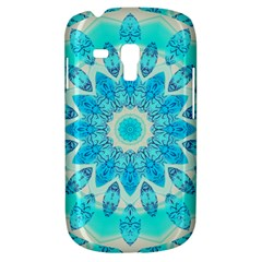 Blue Ice Goddess, Abstract Crystals Of Love Samsung Galaxy S3 Mini I8190 Hardshell Case by DianeClancy