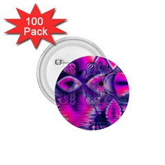 Rose Crystal Palace, Abstract Love Dream  1 75  Button (100 Pack) by DianeClancy