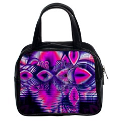 Rose Crystal Palace, Abstract Love Dream  Classic Handbag (two Sides) by DianeClancy