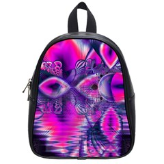 Rose Crystal Palace, Abstract Love Dream  School Bag (small) by DianeClancy