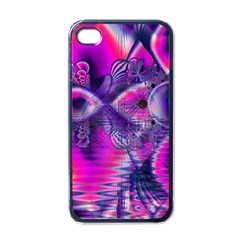 Rose Crystal Palace, Abstract Love Dream  Apple Iphone 4 Case (black) by DianeClancy