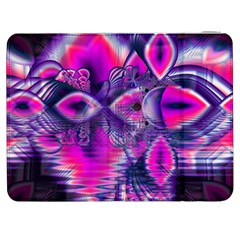 Rose Crystal Palace, Abstract Love Dream  Samsung Galaxy Tab 7  P1000 Flip Case by DianeClancy