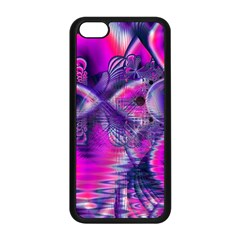 Rose Crystal Palace, Abstract Love Dream  Apple Iphone 5c Seamless Case (black) by DianeClancy