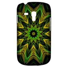 Woven Jungle Leaves Mandala Samsung Galaxy S3 MINI I8190 Hardshell Case by Zandiepants