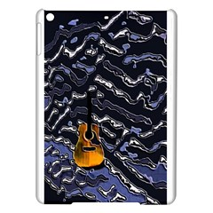 Sound Waves Apple Ipad Air Hardshell Case by Rbrendes