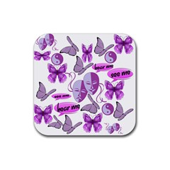 Invisible Illness Collage Drink Coaster (square) by FunWithFibro