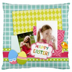 Easter By Easter   Large Cushion Case (two Sides)   Mg8ucpxhoag7   Www Artscow Com Front