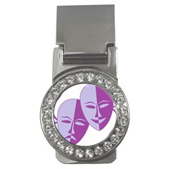 Comedy & Tragedy Of Chronic Pain Money Clip (CZ) by FunWithFibro