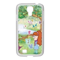 Fairy Kingdom Samsung Galaxy S4 I9500/ I9505 Case (white) by CaterinaBassano