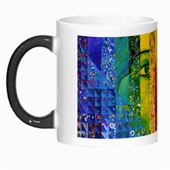 Conundrum I, Abstract Rainbow Woman Goddess  Morph Mug by DianeClancy