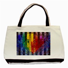 Conundrum I, Abstract Rainbow Woman Goddess  Classic Tote Bag by DianeClancy