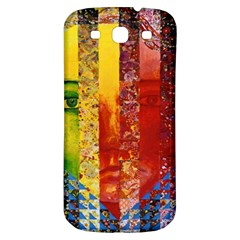 Conundrum I, Abstract Rainbow Woman Goddess  Samsung Galaxy S3 S Iii Classic Hardshell Back Case by DianeClancy