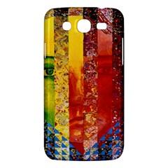 Conundrum I, Abstract Rainbow Woman Goddess  Samsung Galaxy Mega 5 8 I9152 Hardshell Case  by DianeClancy