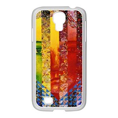 Conundrum I, Abstract Rainbow Woman Goddess  Samsung Galaxy S4 I9500/ I9505 Case (white) by DianeClancy
