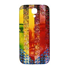 Conundrum I, Abstract Rainbow Woman Goddess  Samsung Galaxy S4 I9500/i9505  Hardshell Back Case by DianeClancy