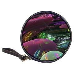 Creation Of The Rainbow Galaxy, Abstract Cd Wallet by DianeClancy