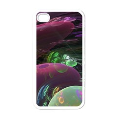 Creation Of The Rainbow Galaxy, Abstract Apple Iphone 4 Case (white) by DianeClancy