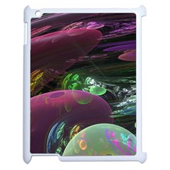 Creation Of The Rainbow Galaxy, Abstract Apple Ipad 2 Case (white) by DianeClancy