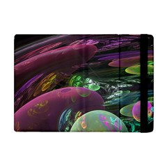 Creation Of The Rainbow Galaxy, Abstract Apple Ipad Mini Flip Case by DianeClancy