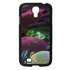 Creation Of The Rainbow Galaxy, Abstract Samsung Galaxy S4 I9500/ I9505 Case (black) by DianeClancy