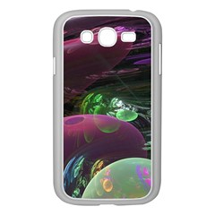Creation Of The Rainbow Galaxy, Abstract Samsung Galaxy Grand Duos I9082 Case (white) by DianeClancy