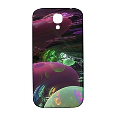 Creation Of The Rainbow Galaxy, Abstract Samsung Galaxy S4 I9500/i9505  Hardshell Back Case by DianeClancy