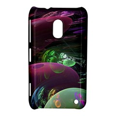 Creation Of The Rainbow Galaxy, Abstract Nokia Lumia 620 Hardshell Case by DianeClancy
