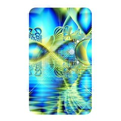 Crystal Lime Turquoise Heart Of Love, Abstract Memory Card Reader (rectangular) by DianeClancy