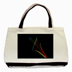 Abstract Rainbow Lily, Colorful Mystical Flower  Classic Tote Bag by DianeClancy