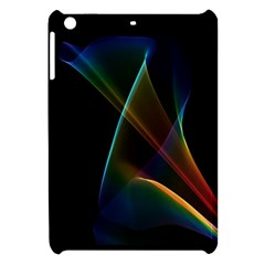 Abstract Rainbow Lily, Colorful Mystical Flower  Apple Ipad Mini Hardshell Case by DianeClancy